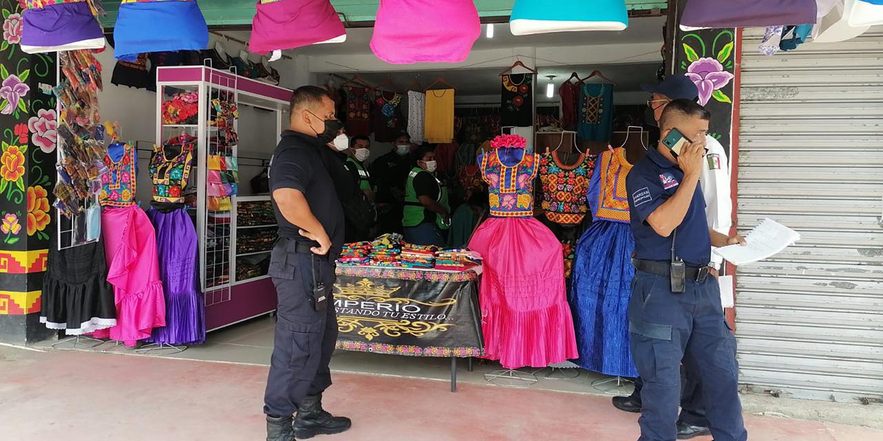 Violento asalto en tienda de ropa típica de Matías Romero | El Imparcial de Oaxaca