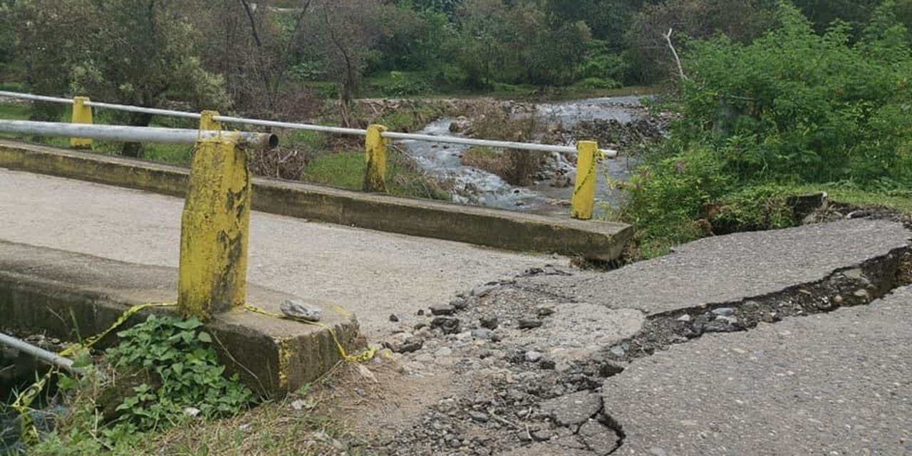 Urge resanar daños por lluvia en zona de Cañada Sur de Putla   El Imparcial de Oaxaca