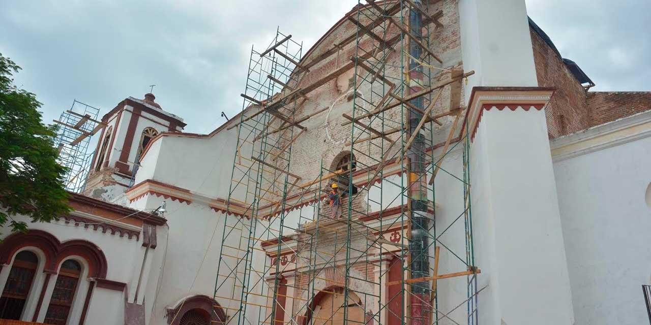 Restauran templos católicos dañados en el Istmo por el sismo de 8.2 | El Imparcial de Oaxaca