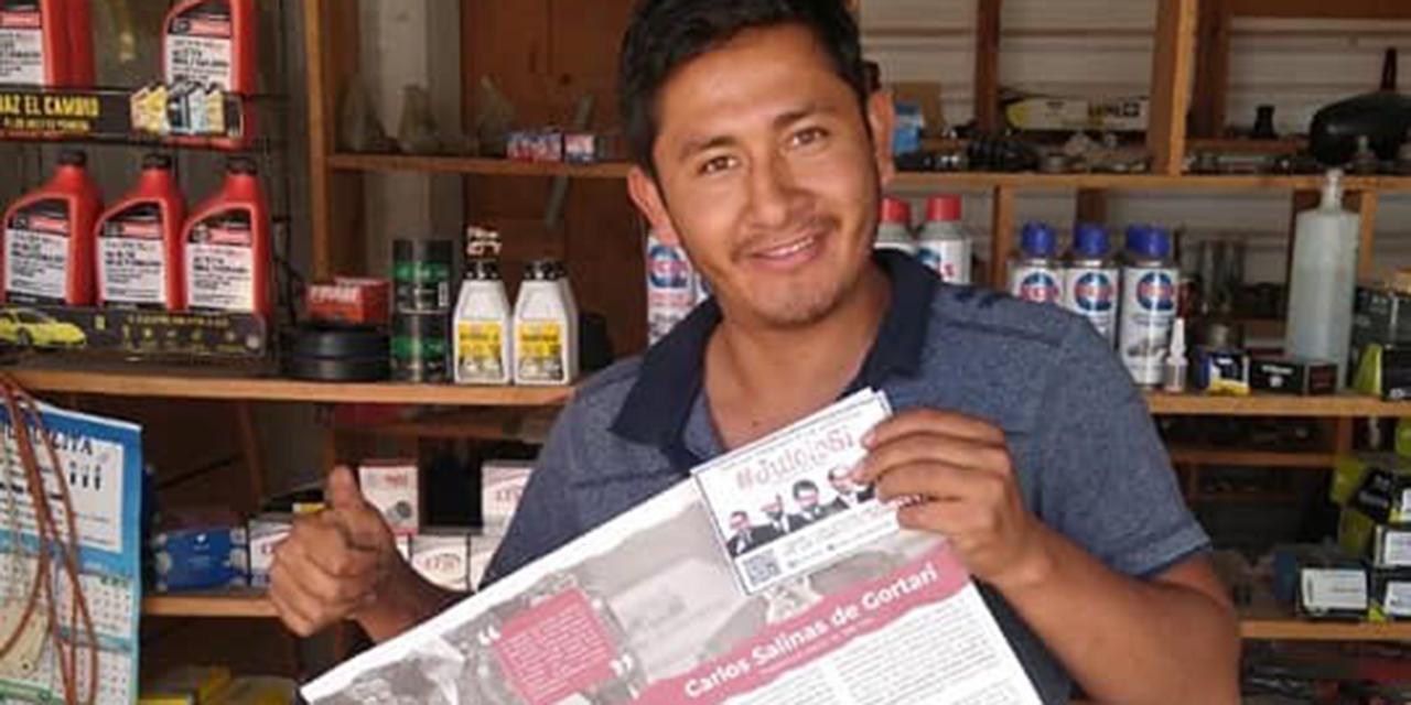 Jóvenes de Tlaxiaco buscan firmas para juicio a los ex presidentes | El Imparcial de Oaxaca