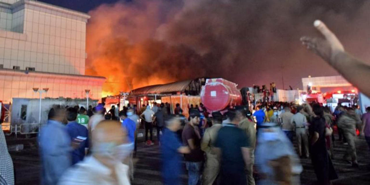 Explosión en hospital para pacientes covid de Irak deja al menos 92 muertos; acusan negligencia | El Imparcial de Oaxaca