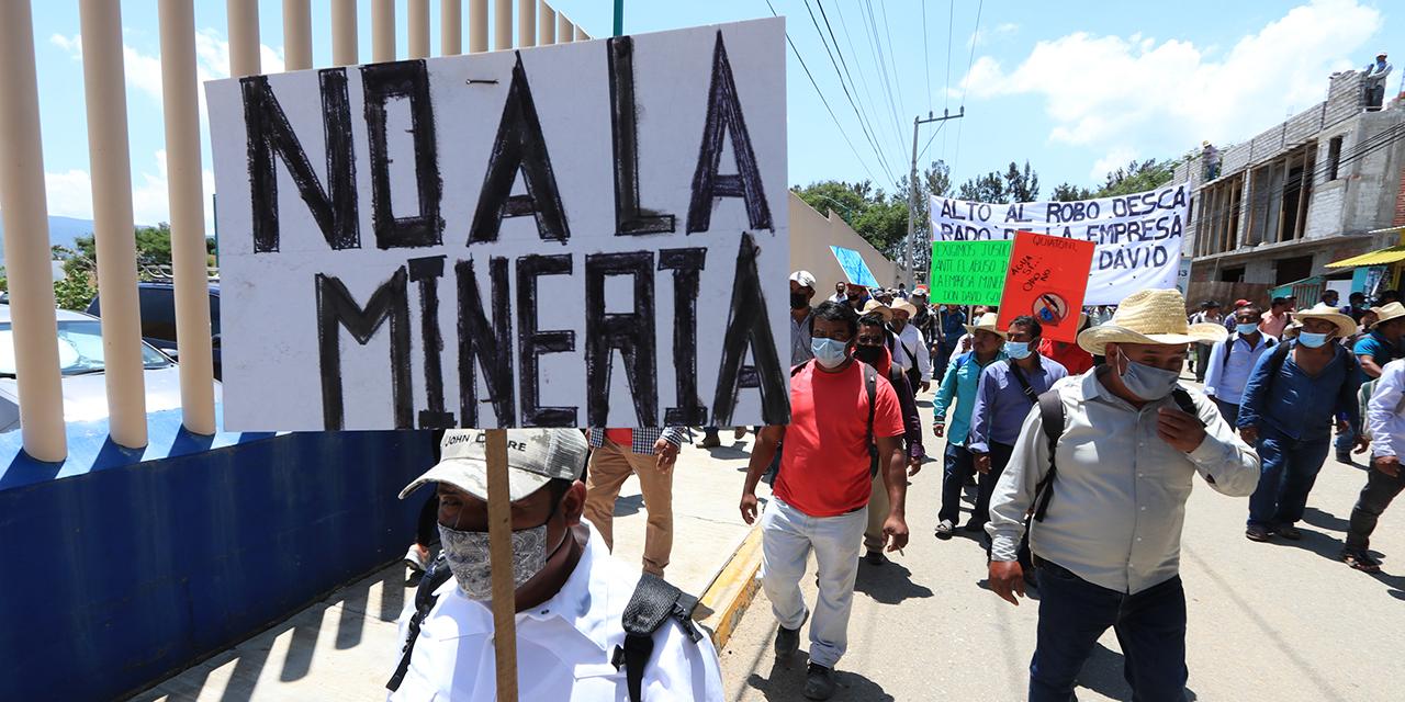 Pandemia extiende juicio entre Quiatoni y mineras   El Imparcial de Oaxaca