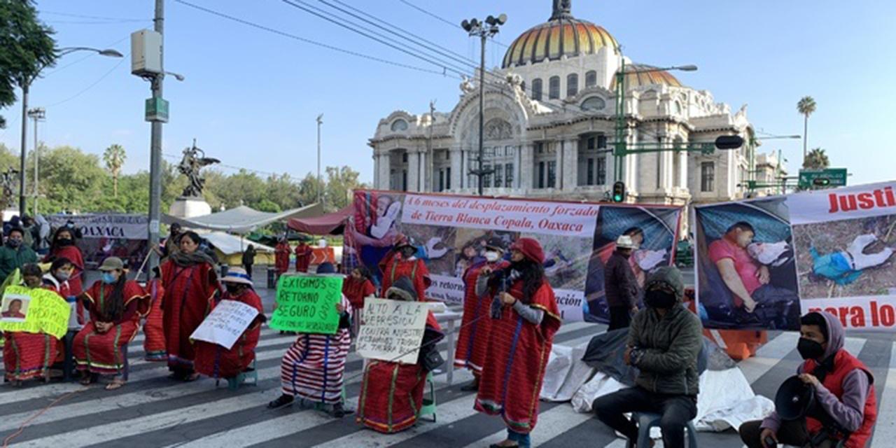 Triquis levantan plantón de Bellas Artes en la CDMX   El Imparcial de Oaxaca