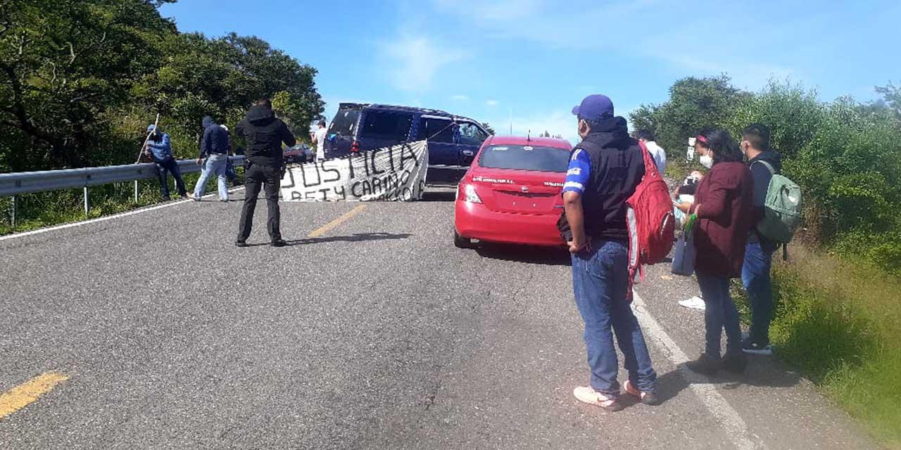 MAÍZ vuelve a los bloqueos | El Imparcial de Oaxaca