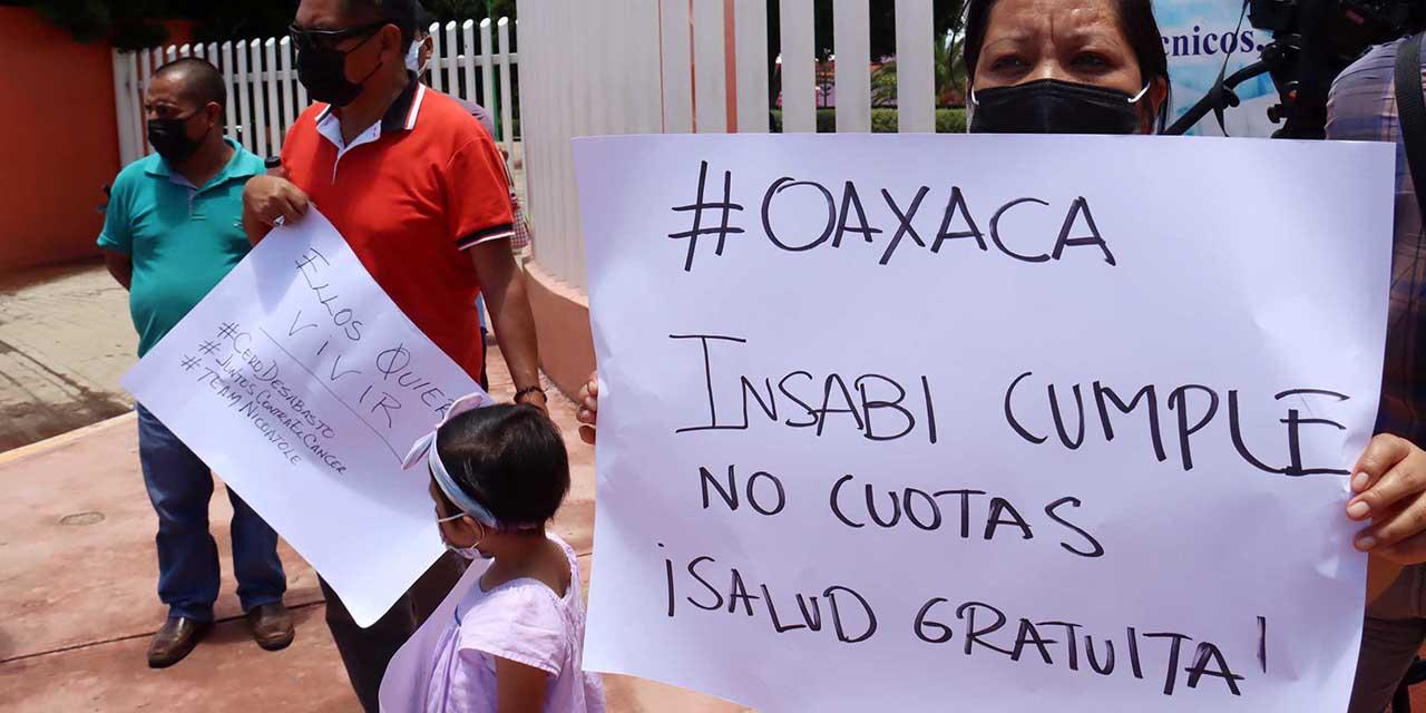 Insabi retira apoyo y desabasto hace crisis | El Imparcial de Oaxaca
