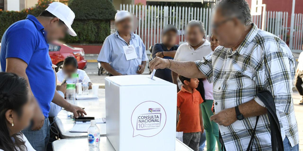 Instalarán mil 882 mesas para la consulta popular en Oaxaca   El Imparcial de Oaxaca