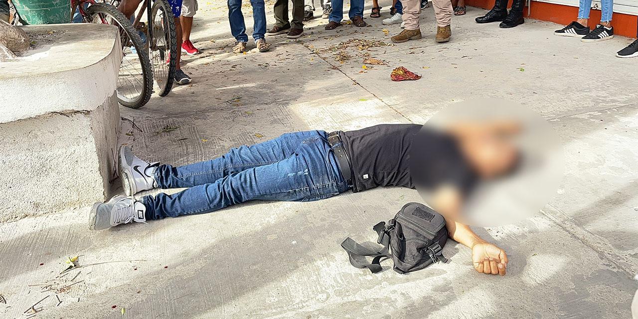 Lo matan en el centro de Juchitán | El Imparcial de Oaxaca