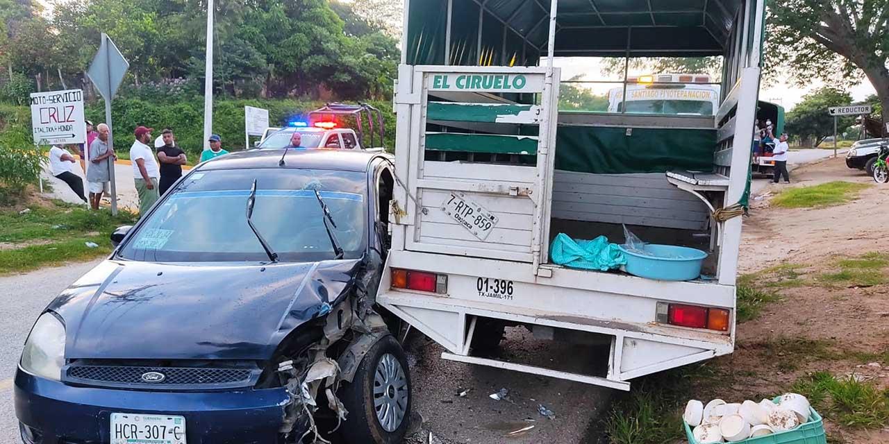Choque deja herida en Pinotepa   El Imparcial de Oaxaca