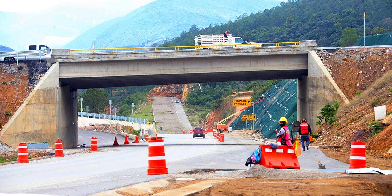 Vía libre para la súper al Istmo lleva un 55% de avance | El Imparcial de Oaxaca