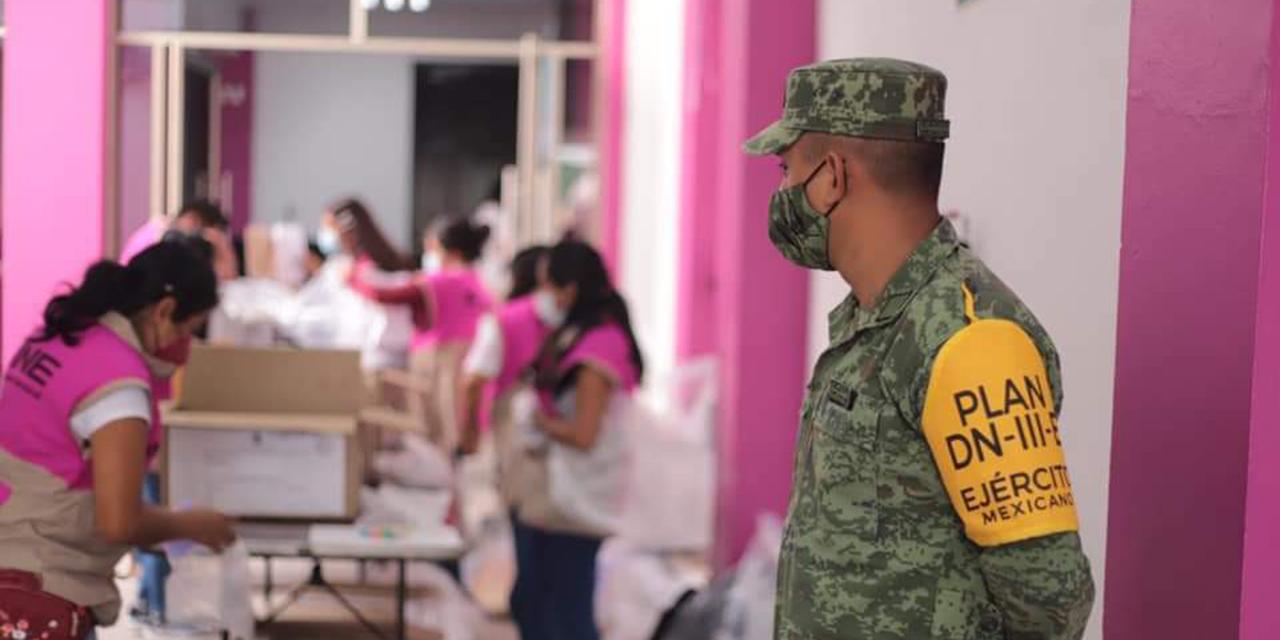 Llegan boletas a la Junta Distrital 03 del INE   El Imparcial de Oaxaca