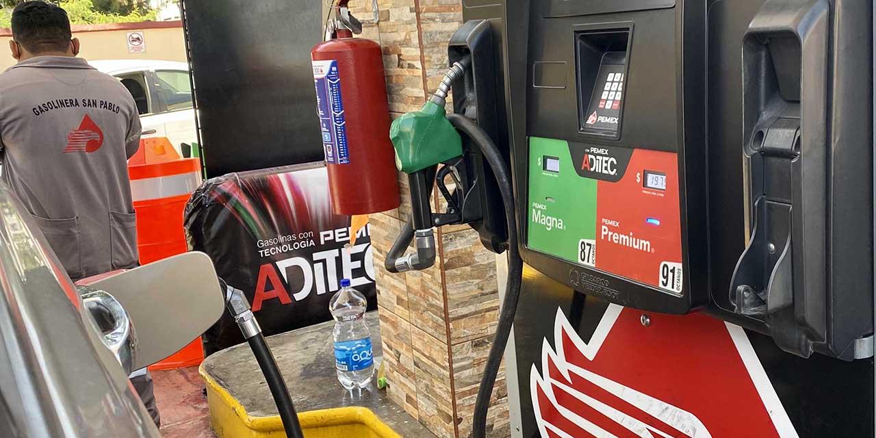 Reducen estímulo a gasolinas; usuarios pagarán más | El Imparcial de Oaxaca
