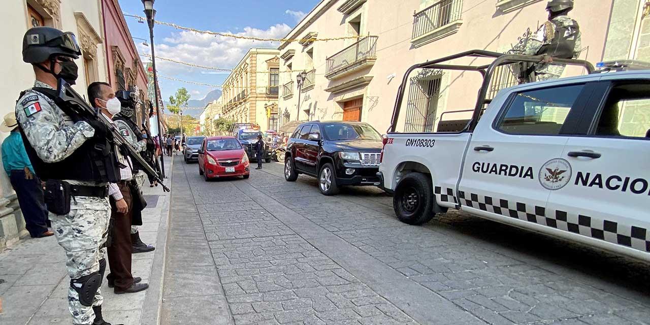 Guardia Nacional cuida carreteras, descuida investigación y narco en Oaxaca   El Imparcial de Oaxaca