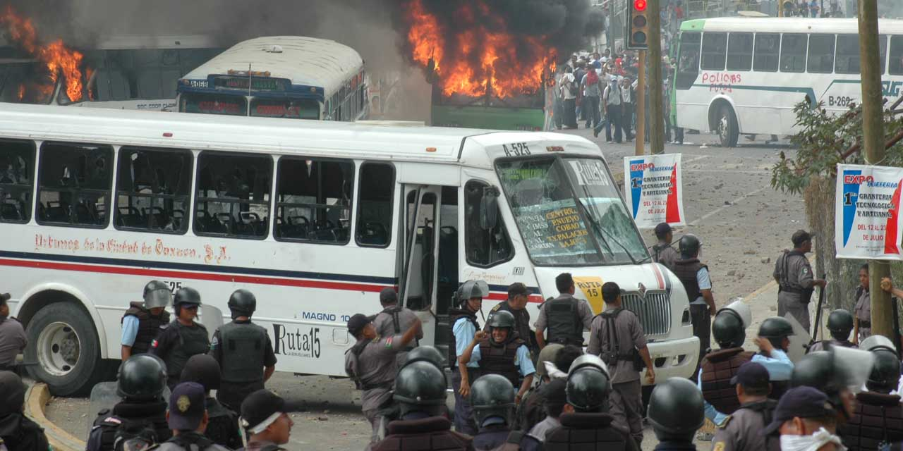 Recuerdan hechos violentos del 2006 | El Imparcial de Oaxaca