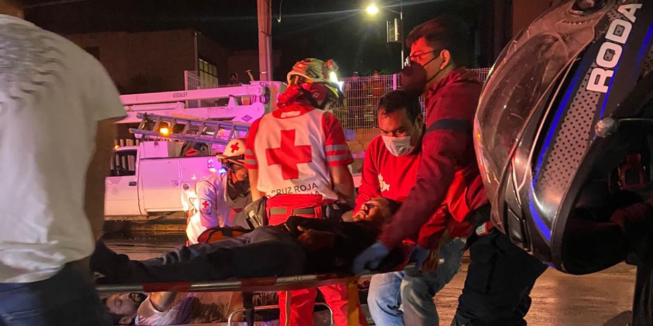 Fuerte choque frontal entre motociclistas | El Imparcial de Oaxaca