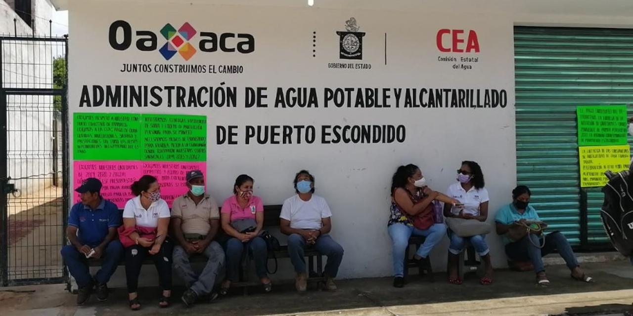 Toman oficinas de Agua Potable en Puerto Escondido | El Imparcial de Oaxaca