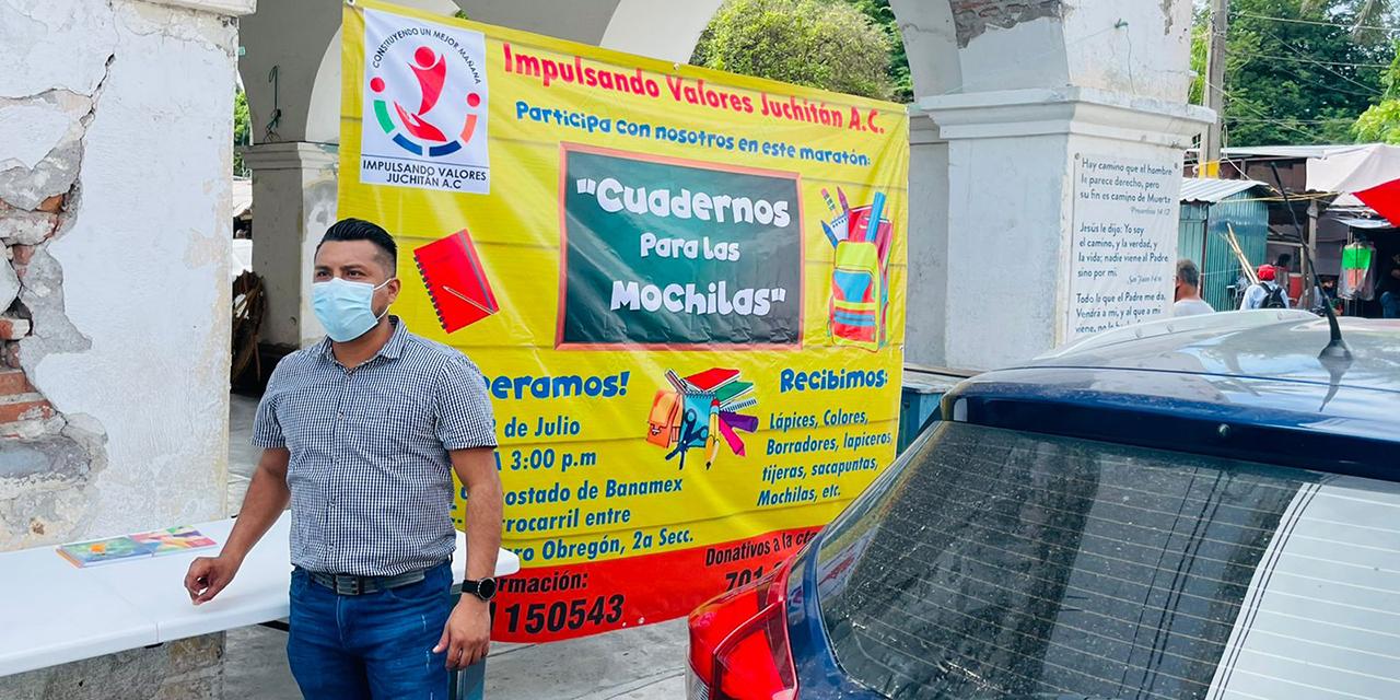 Lanzan campaña para recaudar útiles escolares en Juchitán | El Imparcial de Oaxaca