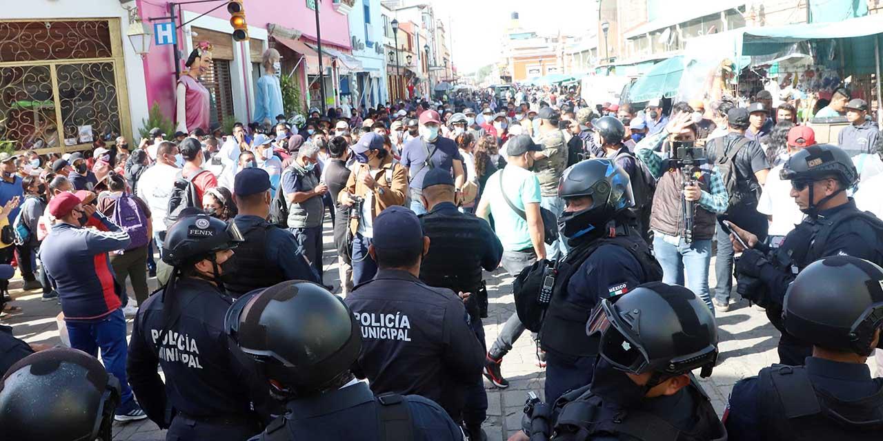 Comercio informal rebasa a autoridades de la capital oaxaqueña | El Imparcial de Oaxaca