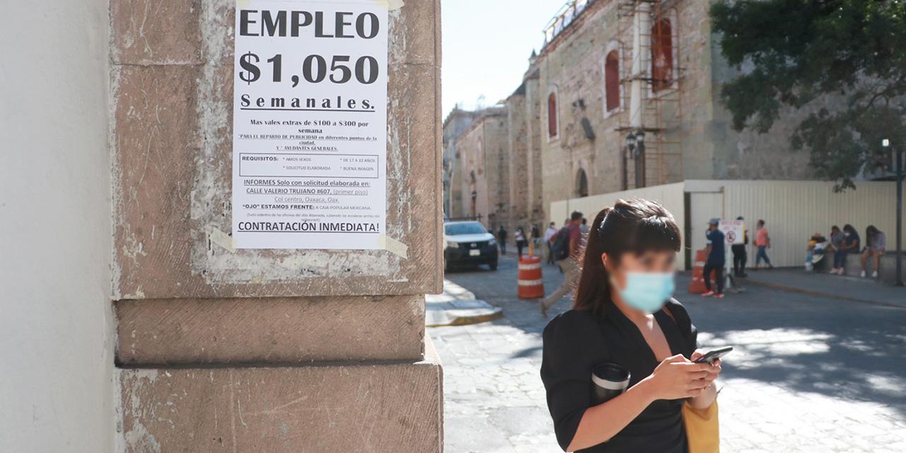 Ocho de cada diez oaxaqueños se encuentran en la precariedad laboral | El Imparcial de Oaxaca