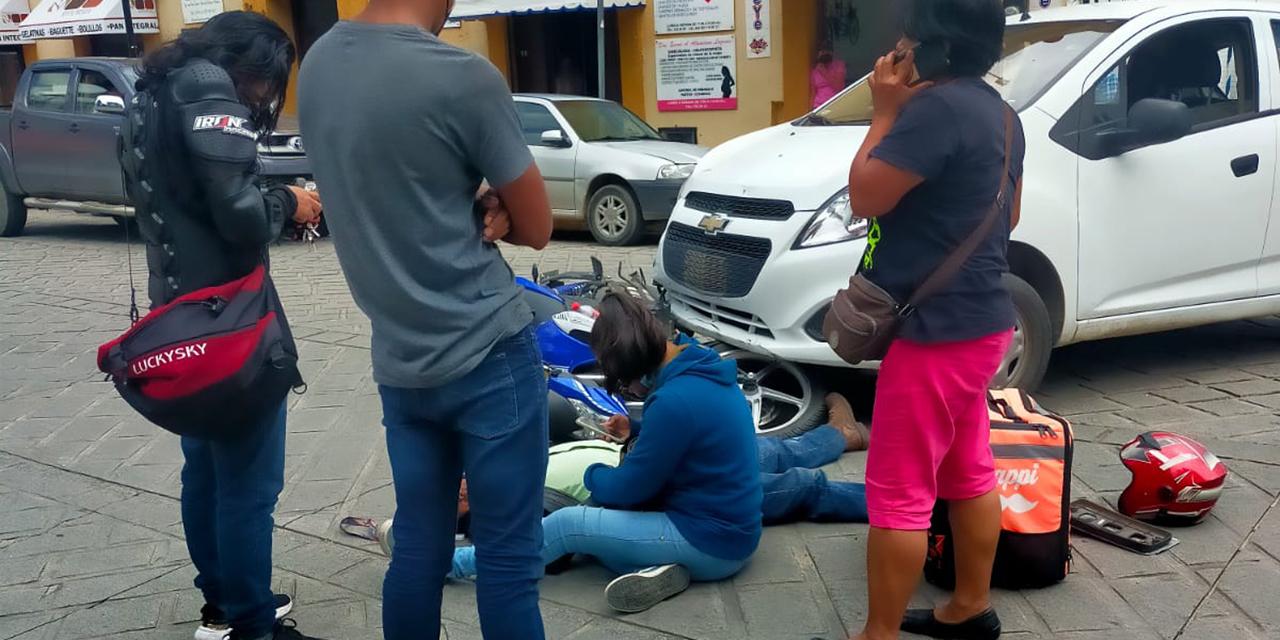 Arrollan a repartidor de comida | El Imparcial de Oaxaca