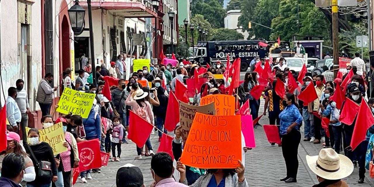 Lío agrario, móvil de protesta antorchista   El Imparcial de Oaxaca