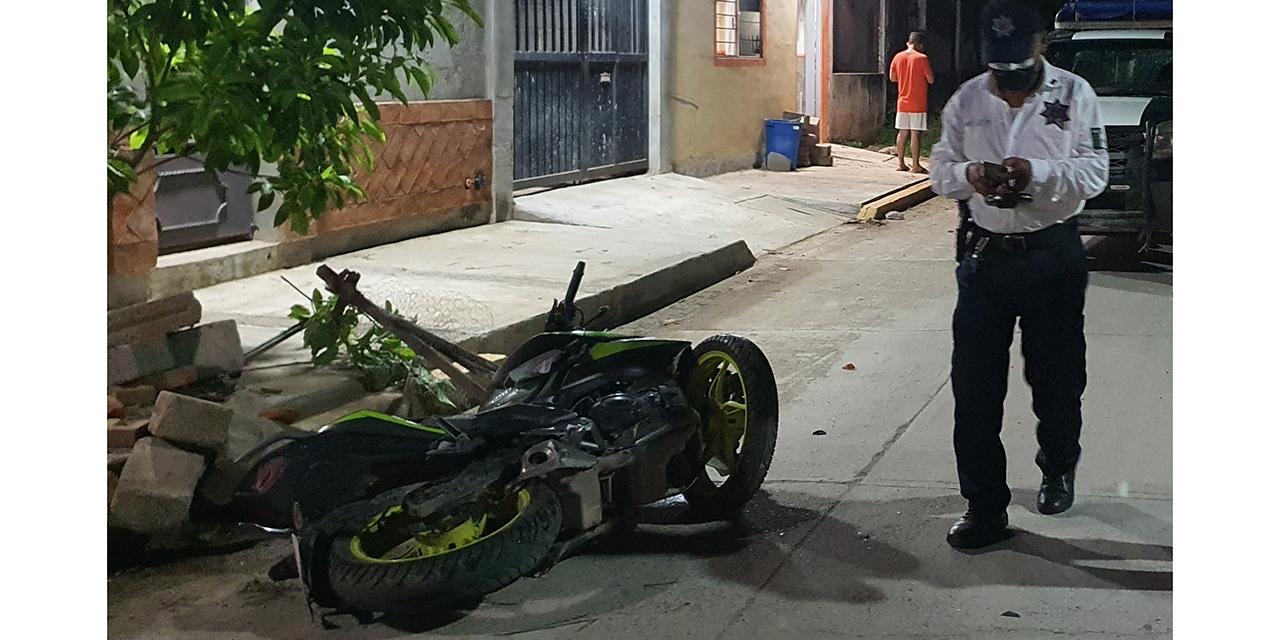 Muere motociclista tras perder el control en Ciudad Ixtepec   El Imparcial de Oaxaca