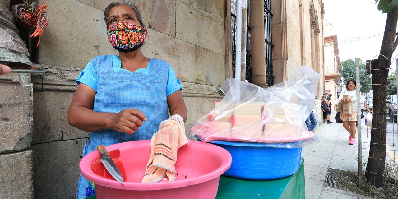 Baja venta del tradicional nicuatole oaxaqueño debido a la pandemia | El Imparcial de Oaxaca