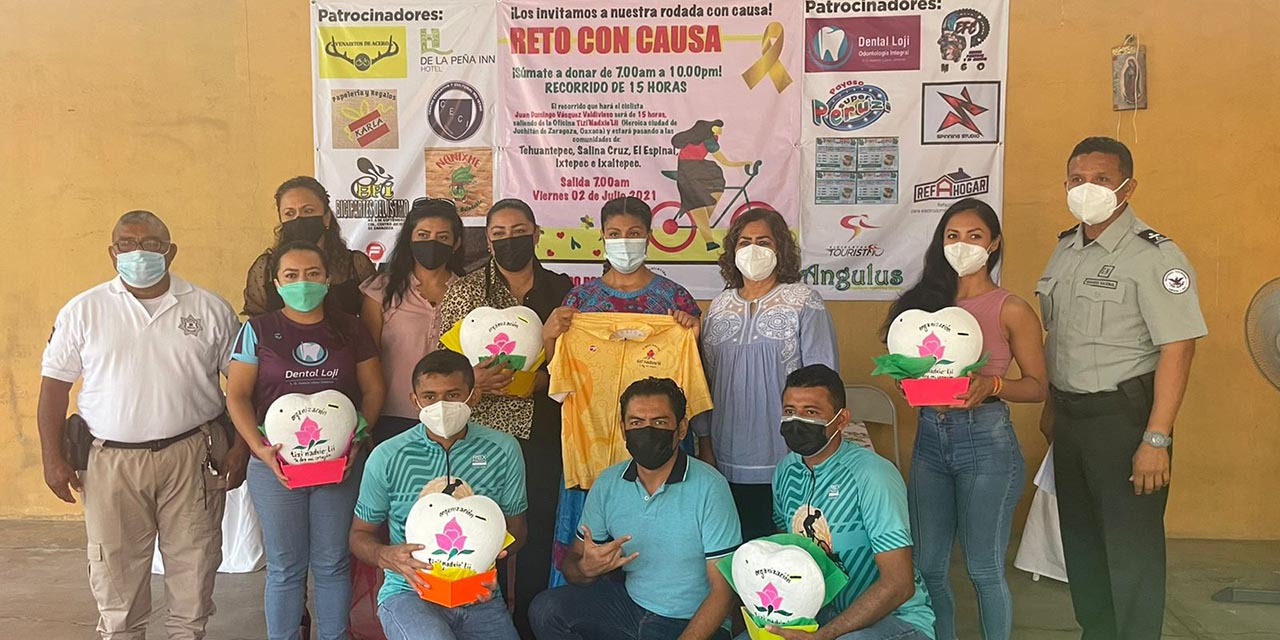 Alistan rodada con causa; presentan las alcancías | El Imparcial de Oaxaca