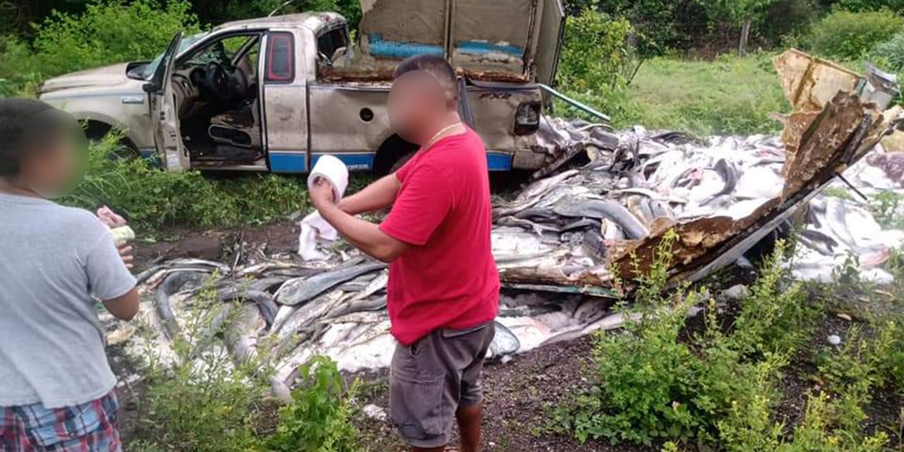 Viven para contarlo tras accidente en carretera a La Venta | El Imparcial de Oaxaca