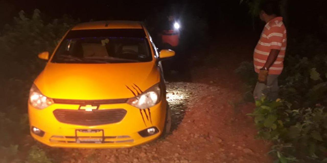 Roban taxi con lujo de violencia en Salina Cruz | El Imparcial de Oaxaca