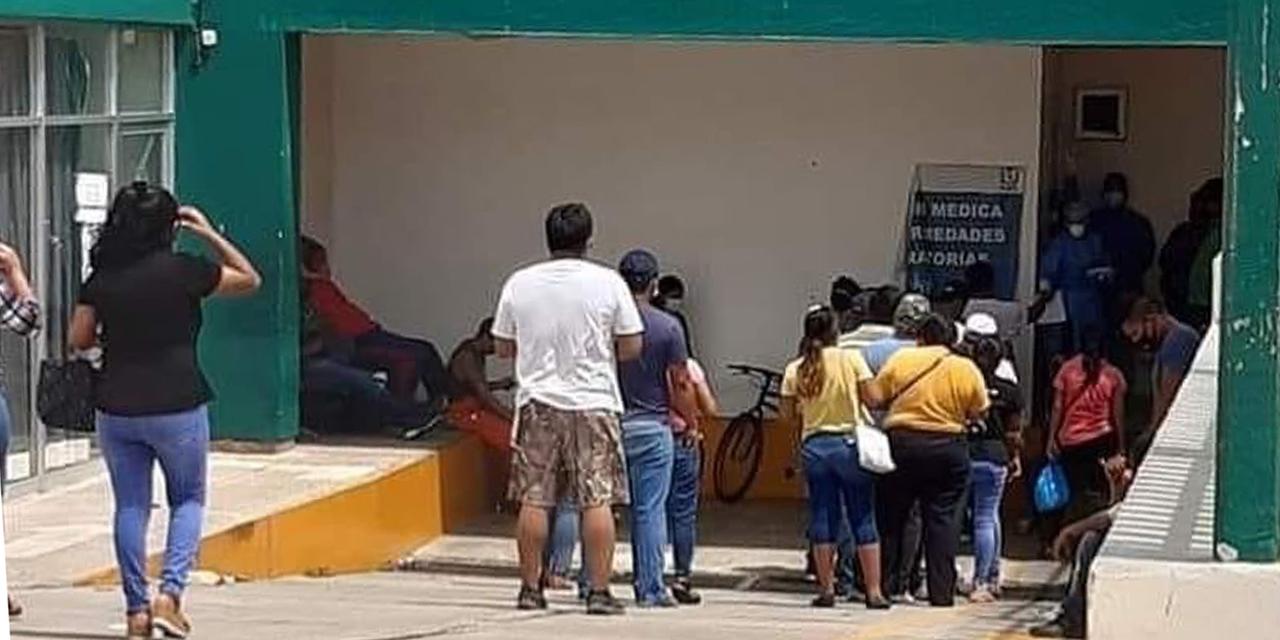 Poca afluencia durante vacunación a jóvenes en Salina Cruz   El Imparcial de Oaxaca