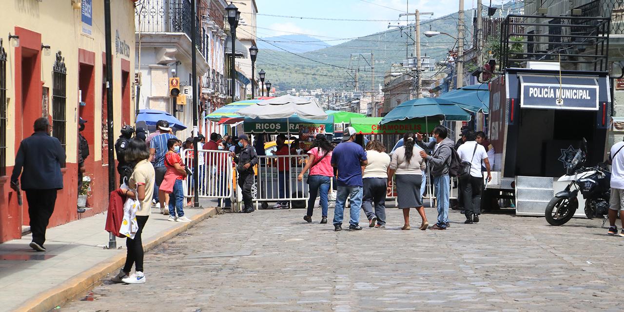 Comerciantes abarcan nuevas vías del Centro Histórico de Oaxaca | El Imparcial de Oaxaca
