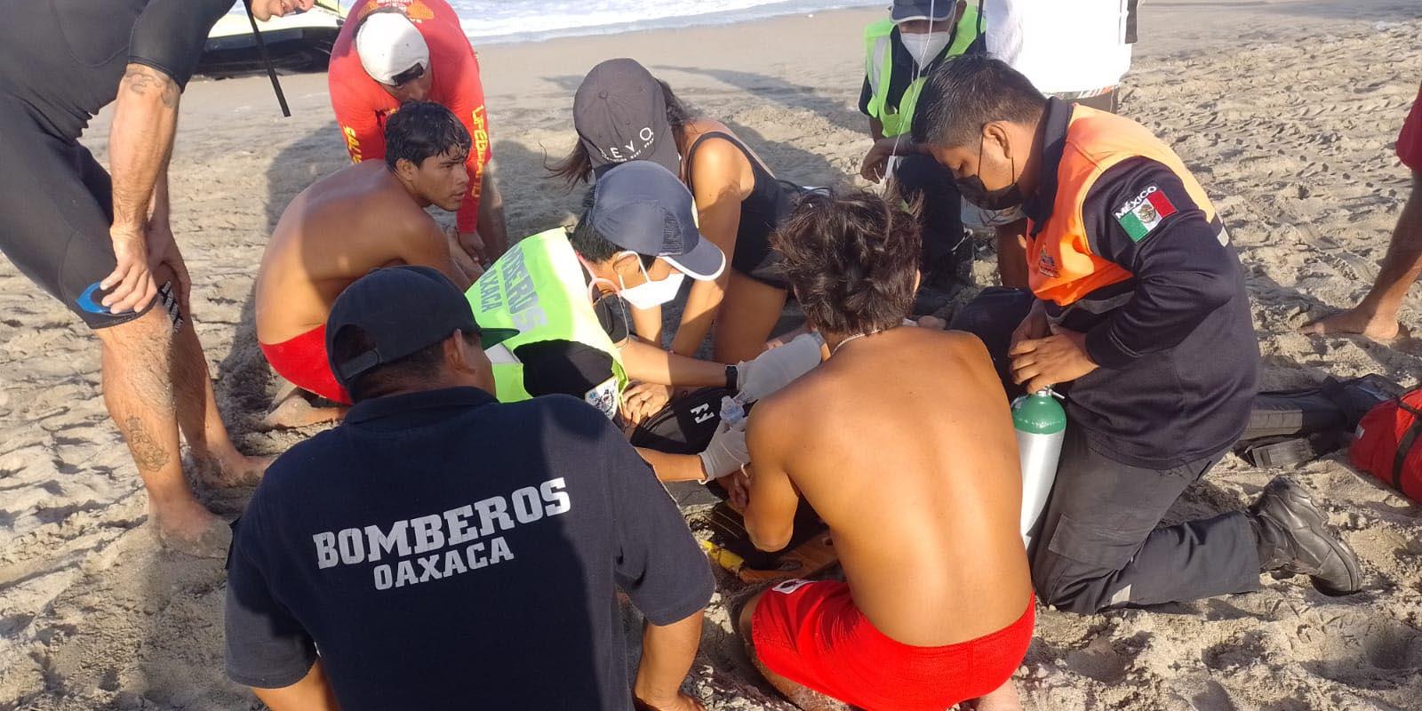 Muere surfista extranjero en Zicatela   El Imparcial de Oaxaca