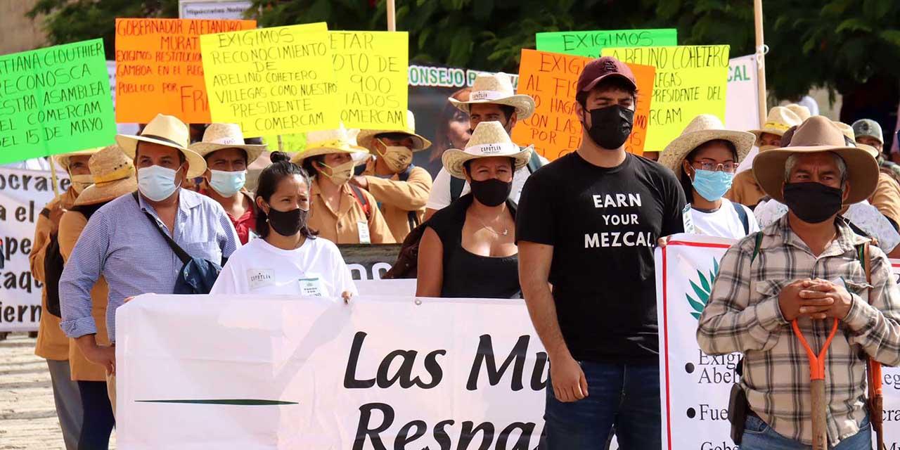 Mezcaleros presionan a la Secretaría de Economía federal   El Imparcial de Oaxaca