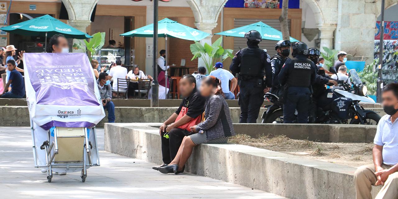 Boleros de la capital oaxaqueña se ven afectados por operativo policial   El Imparcial de Oaxaca