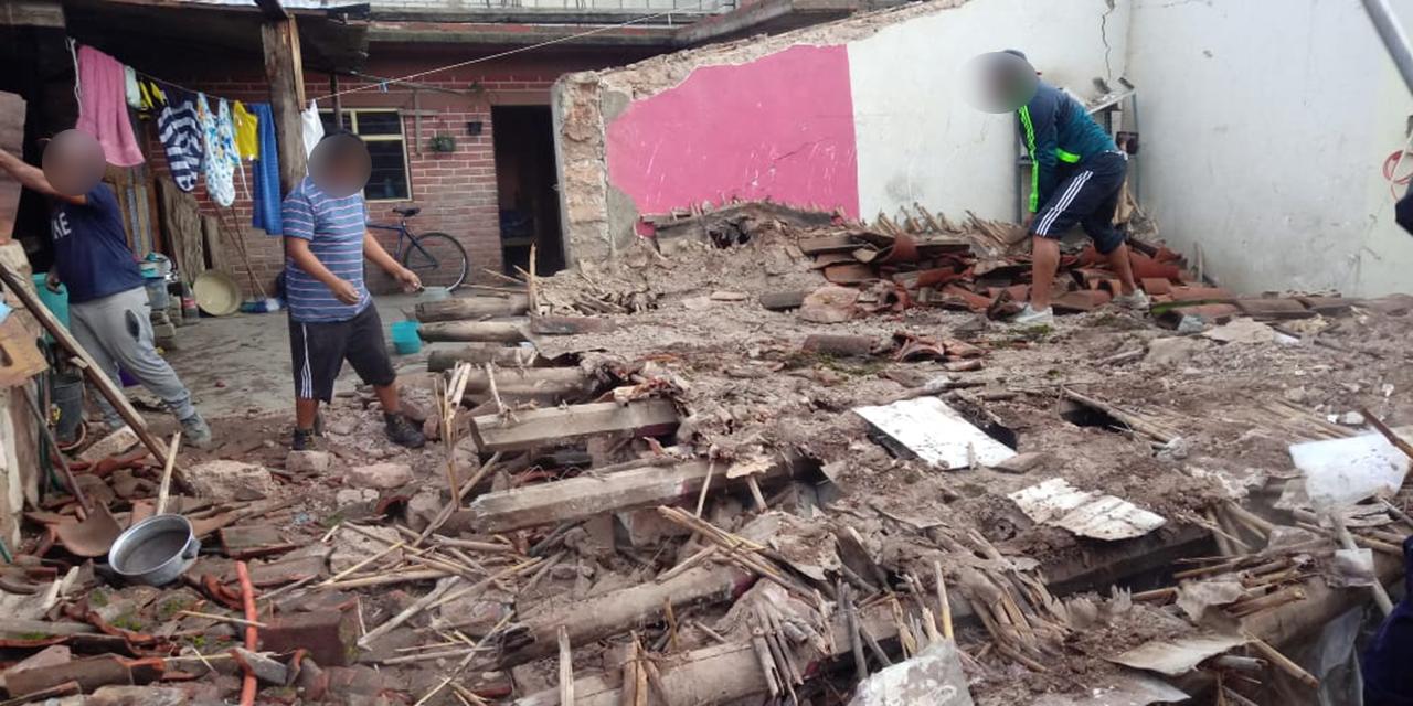 Se salvan de vivienda derrumbada en Nochixtlán | El Imparcial de Oaxaca
