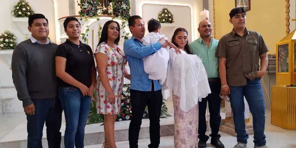 Reciben el bautismo   El Imparcial de Oaxaca