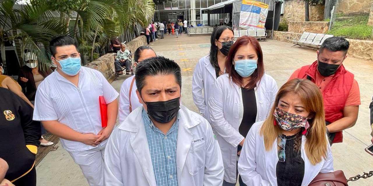 Piden recontratación en  área Covid-19 del ISSSTE   El Imparcial de Oaxaca