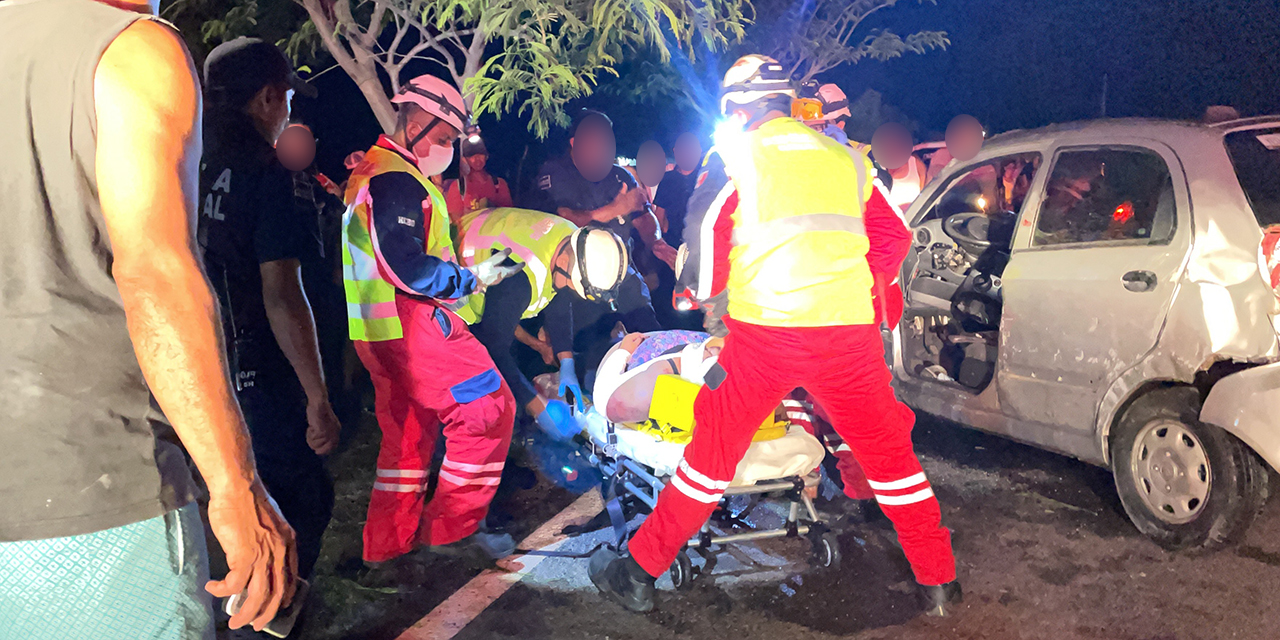 Sufren fuerte accidente en carretera a Ixtaltepec   El Imparcial de Oaxaca