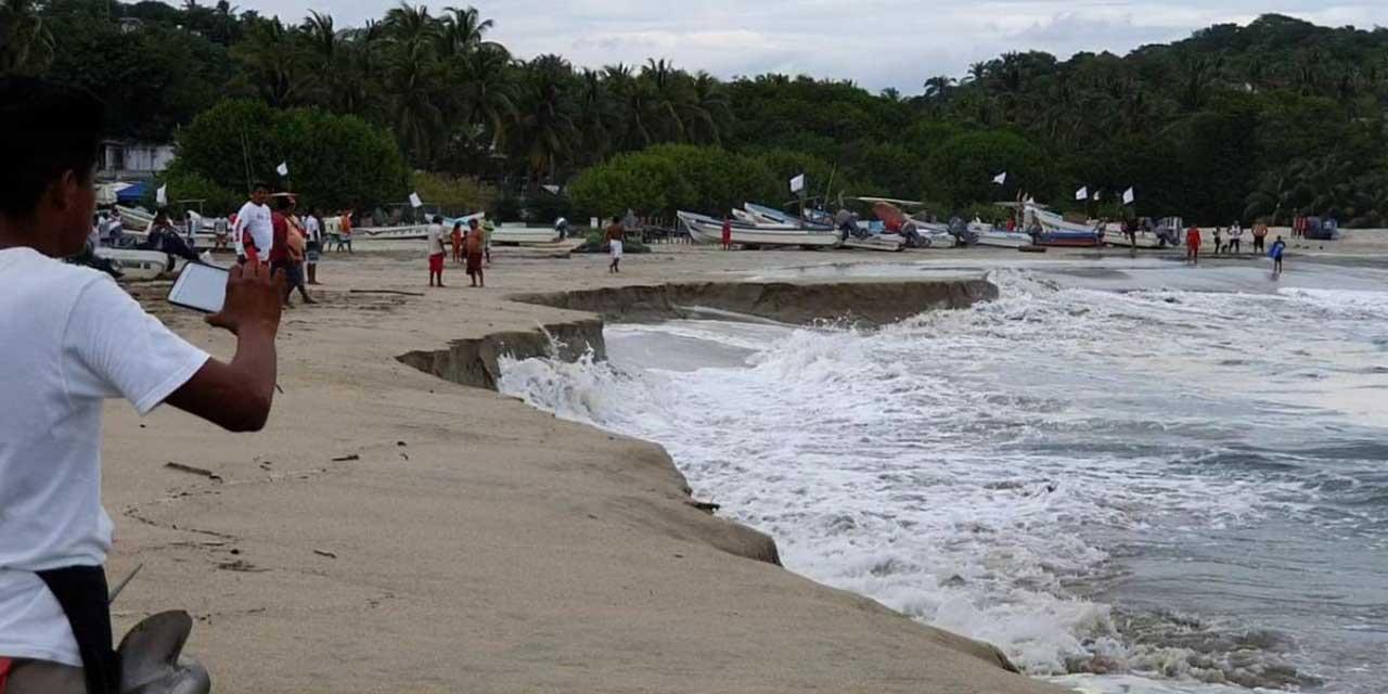 Alertan por mar de fondo en Salina Cruz   El Imparcial de Oaxaca