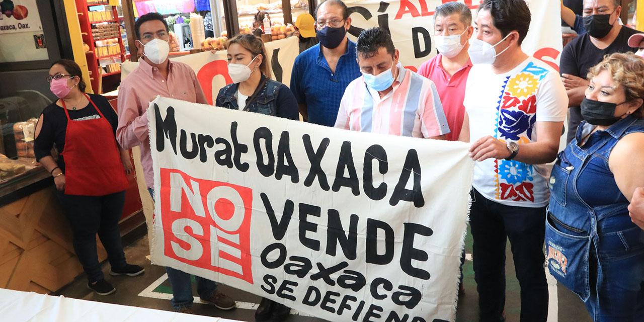 Locatarios del Mercado 20 de noviembre expresan rechazo contra el centro gastronómico | El Imparcial de Oaxaca