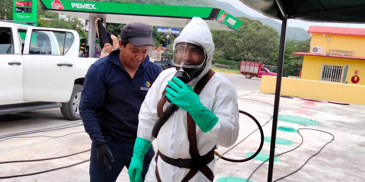 Calibran dispensadores de combustible en Cuicatlán | El Imparcial de Oaxaca