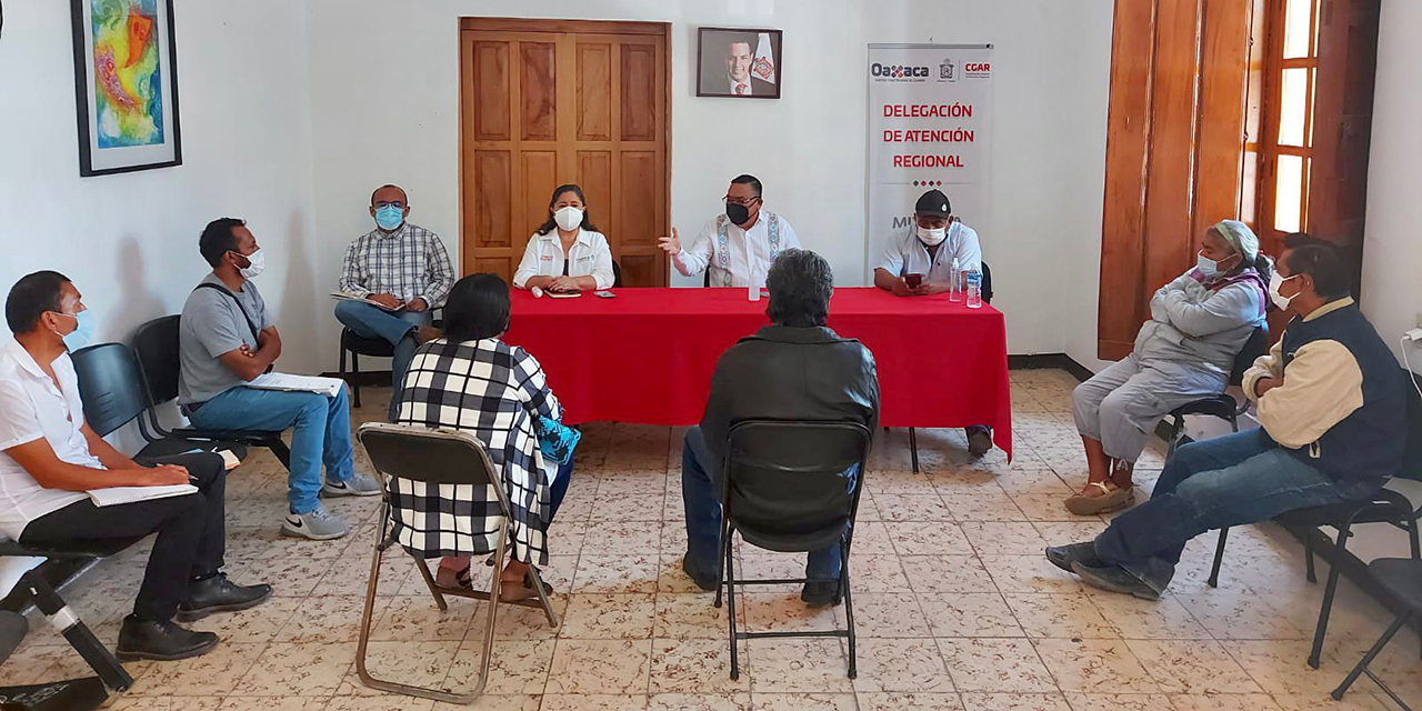 Van por revocación de mandato en Ayuquila | El Imparcial de Oaxaca