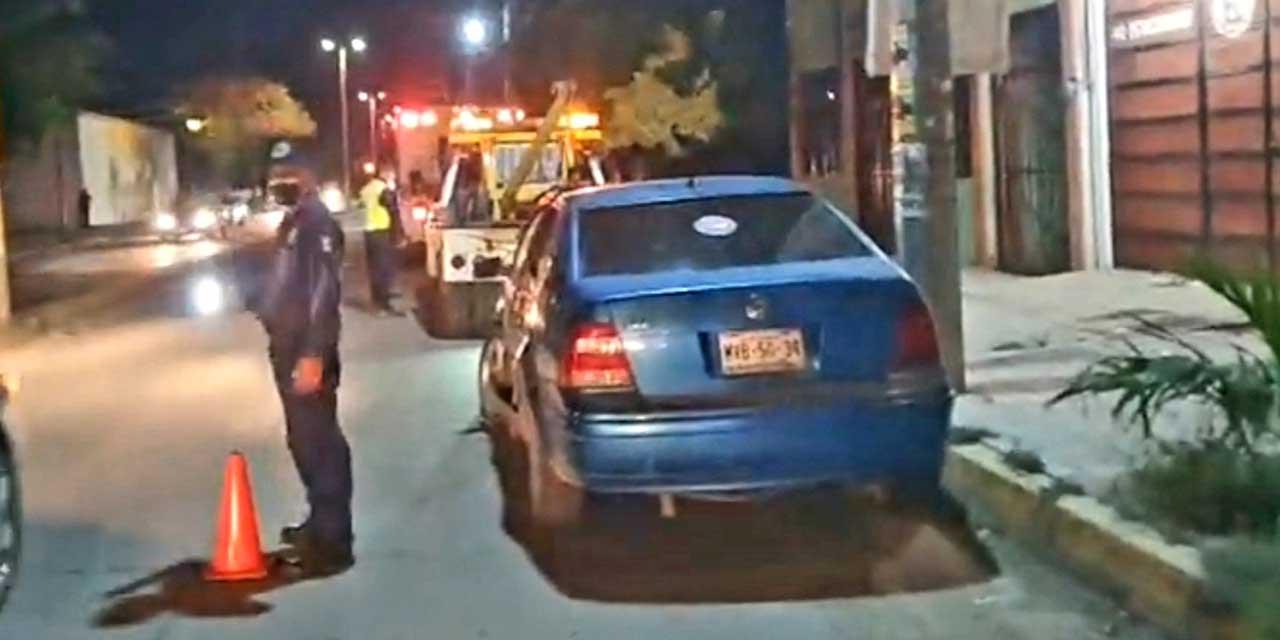 Destroza su automóvil tras choque en Ixtepec   El Imparcial de Oaxaca