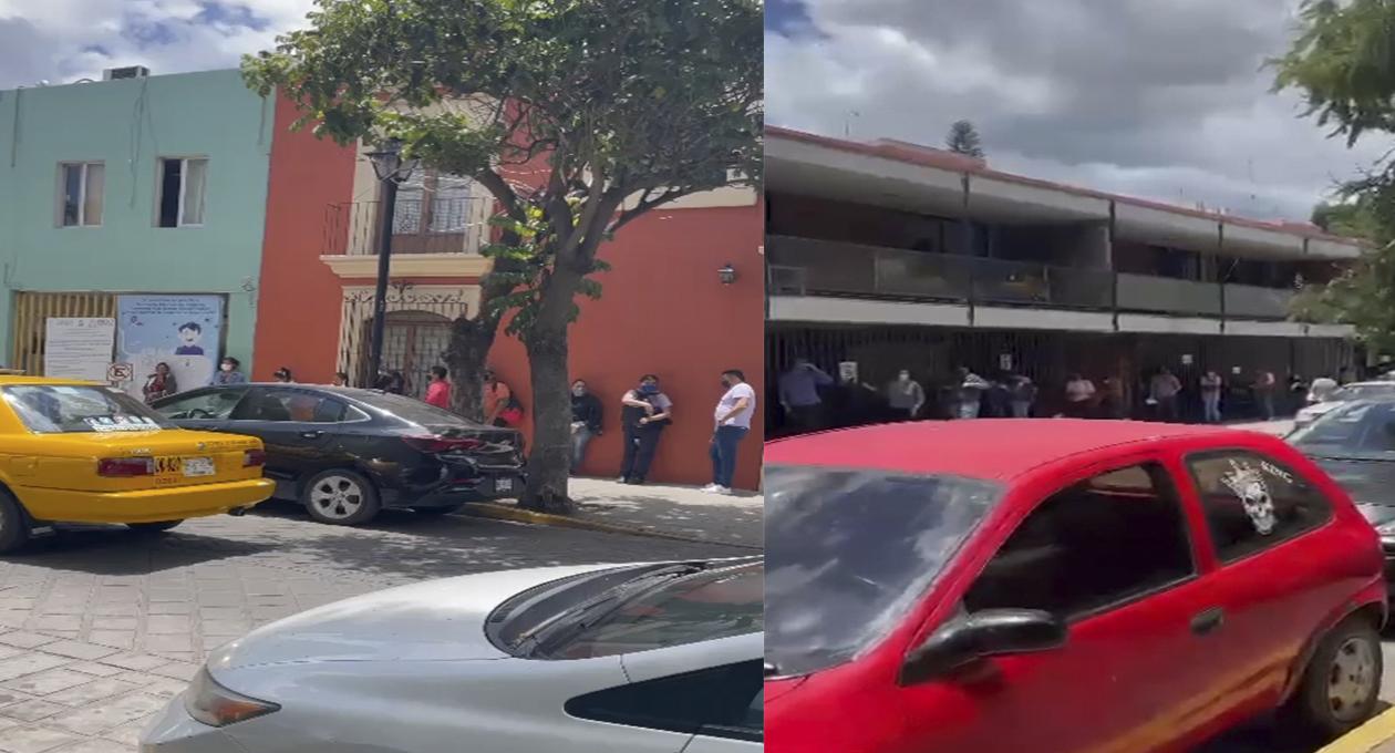 Video: fila de presuntos enfermos de Covid-19 es eterna en la UMF 1 del IMSS en Oaxaca   El Imparcial de Oaxaca