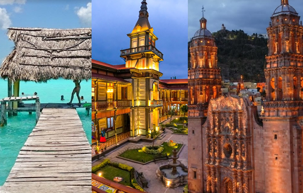 Cinco lugares para viajar en México | El Imparcial de Oaxaca