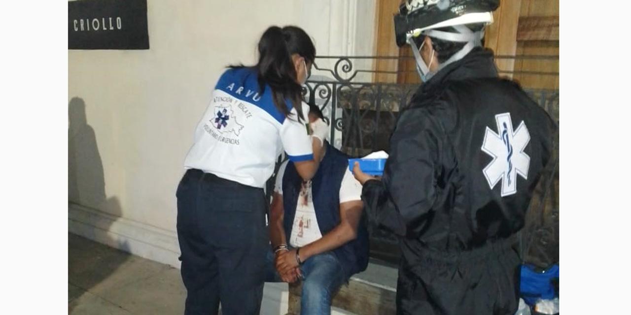 Lo golpean tras presunto asalto | El Imparcial de Oaxaca