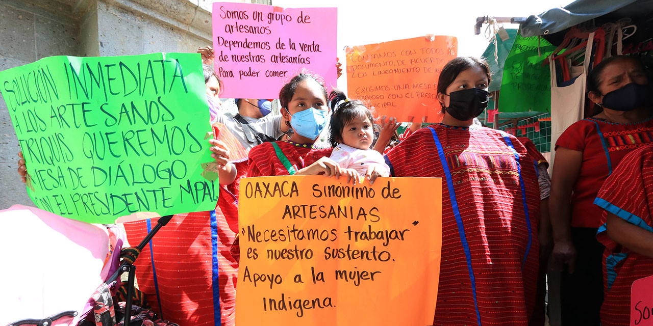 Triquis se dicen artesanas y piden regresar a Gurrión   El Imparcial de Oaxaca