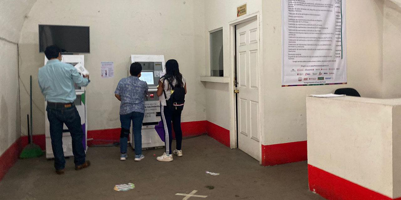 Registro Civil fija precios y no los respeta; crece inconformidad   El Imparcial de Oaxaca