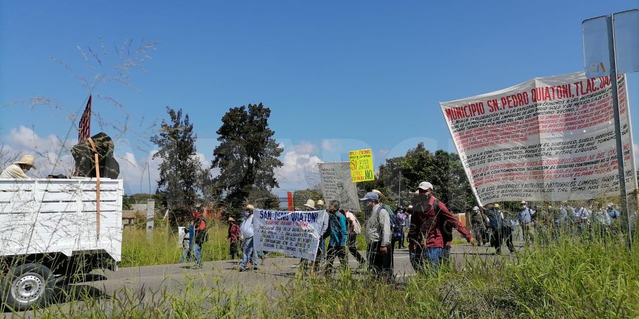 Demandan frenar la actividad minera en Quiatoni   El Imparcial de Oaxaca
