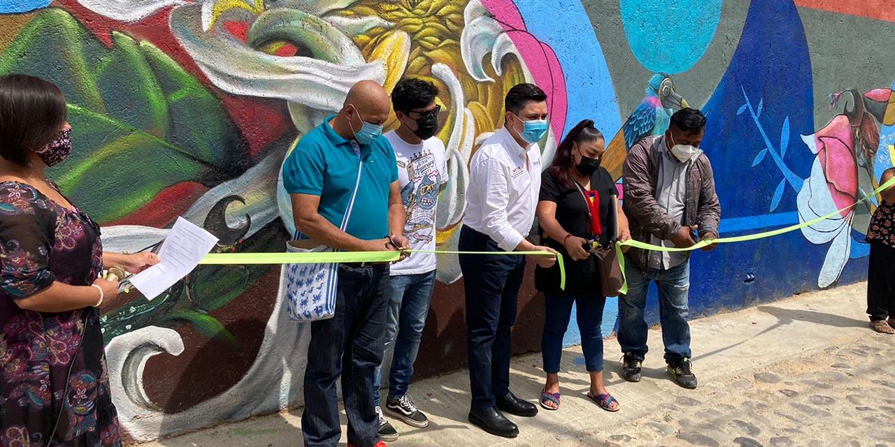 Inauguran Mural alusivo al medio ambiente en el barrio de Xochimilco   El Imparcial de Oaxaca